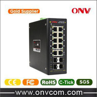 managed PoE Industrial Ethernet Switch