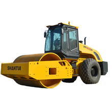 construction machinery single drum road roller for sale