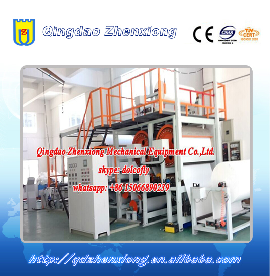 Advertising PVC banner flex sheet production line