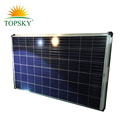 Tier 1 brand 2018 hot sale Double Glass 265W poly solar panel on special price