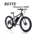 Modern Electric fat bike, mountain E cycle