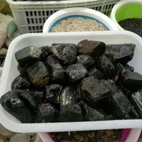 High Quality Uncut Tourmaline Price of Natural Rough Black Tourmaline Stones