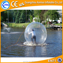 Sport throw ball games!! bubble ball walk water/walking on water plastic ball