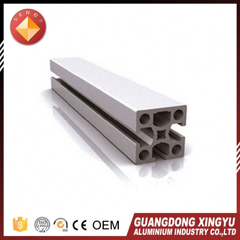 New style extruded aluminum rail system
