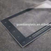 2mm tempered glass screen protector with SGS certificate(frame printed with black)