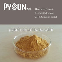 Vitexin Natural vasodilators crataegus pinnatifida bge extract powder