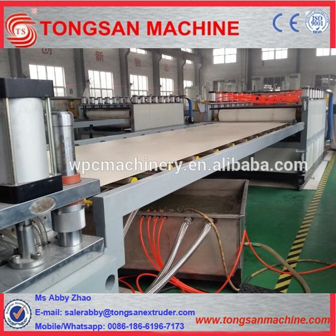 Turnkey project for PVC crust foam board production line