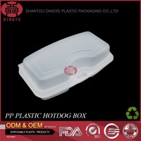 Disposable Plastic PP Frozen Food Tray Supermarket Seafood Packaging