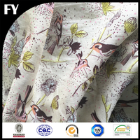 Custom digital 100% cotton pineapple print fabric