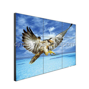 55-Inch LCD large-screen Video Wall with Narrow 1.7mm Bezel