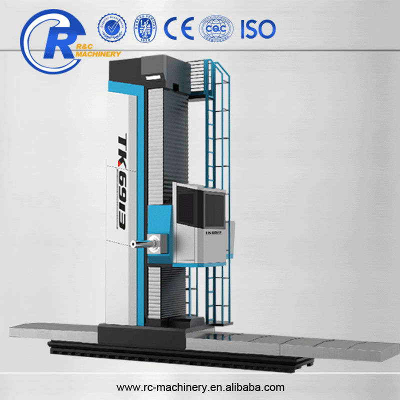 Multi heads vertical boring machine for metal