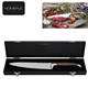 luxury laguiole inox kitchen chef knife with mdf box