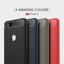 For Google Pixel 2 Carbon Fiber Case, Free Samples, Shockproof Soft TPU Case Cover For Pixel 2
