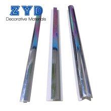 Reliable Quality Pvc Sheet Decoration Newly Designs Interior Decorative Bordering Lines Uv Coating Line