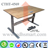 glass bar counter design rectangular bar table height adjustable office table desk