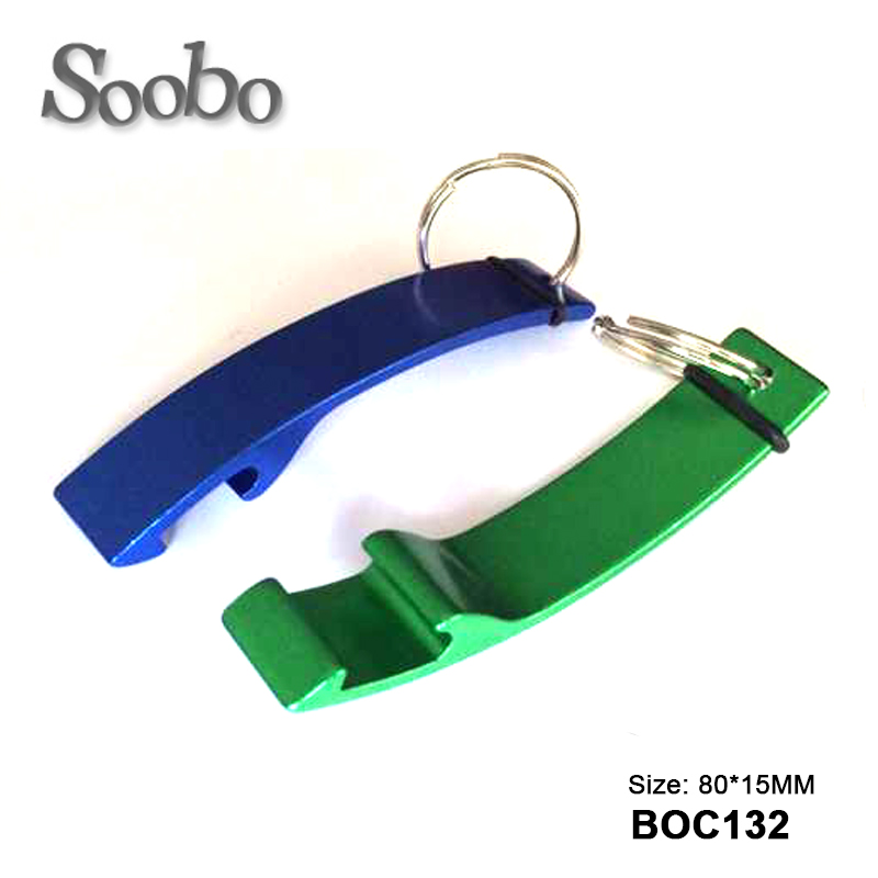 Aluminum Bridge Shaped keychain bottle opener wholesale ,customized logo, different design , custom bottle opener keychain,