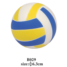 high quality cheap volleyball shape anti stress ball PU FOAM BALL