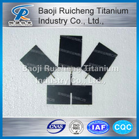 Factory professional process customized Ruthenium-series coated titanium anode , titanium electrode long service life