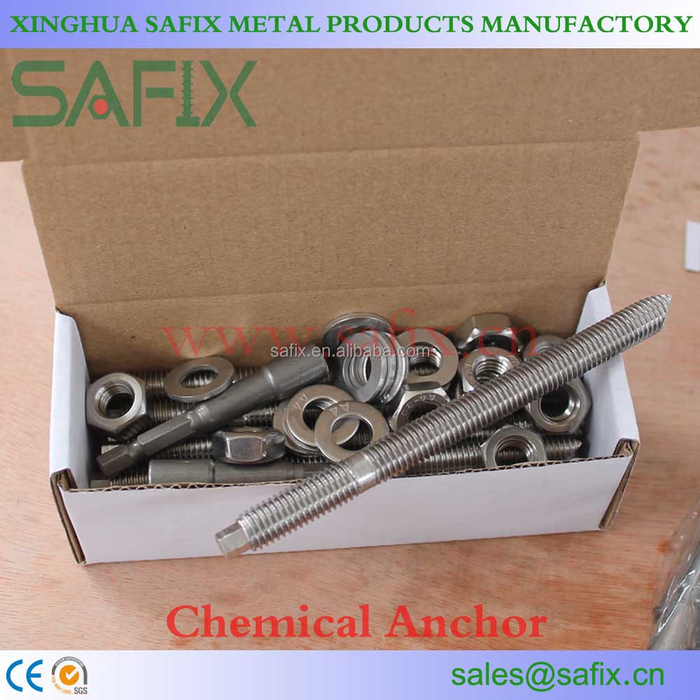 Inox AISI304/316 Chemical Anchor