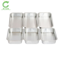 Unique design heat retaining food aluminium foil container