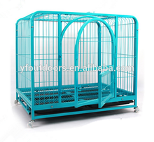 Manufacturer supply toy dog cage with wheel