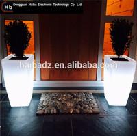 Square Column flower pots home depot cast iron garden planters flower pot derby ql-9115 solar flower pot
