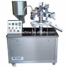Cosmetic Cream Soft Tube Making Machine / Hand cream Soft Tube Filling and Sealing Machine / Lotion Soft Tube Making