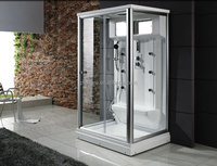 2014 steam shower for 2 persons enclosed steam shower room/wet steam room