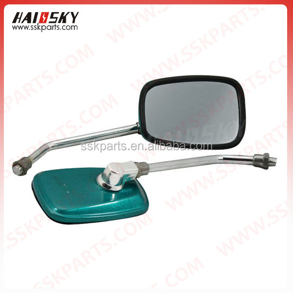 HAISSKY motor parts motorcycle side view mirror for safety whole sale