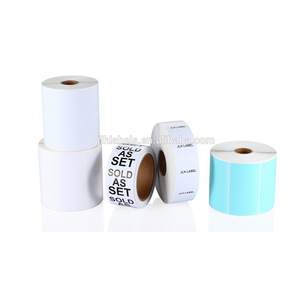 Thermal Transfer Labels Logistics adhesive backed paper