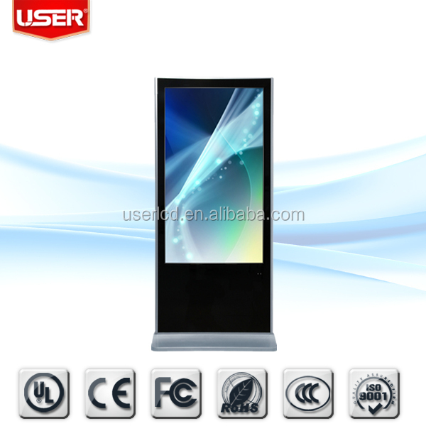 Cheap price cosmetic lcd monitors with 5ms responsive 3g wifi with server softwar