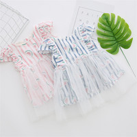 Most popular attractive style smocked baby dress directly sale