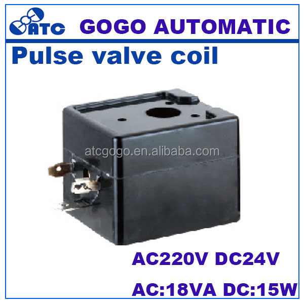 Inside diameter 11mm high 36.5mm pneumatic pulse valve coil solenoid coil plunger