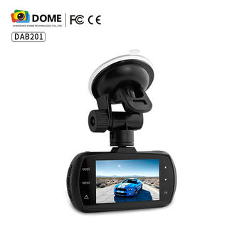 A12 Chipset Car Dash Cam Spuurots GPS DAB Ultra Wide Angle 1440P Max 128G TF Card