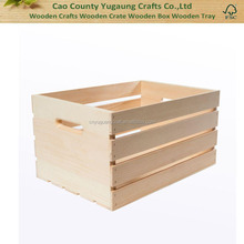 Hot Sale Cheap Unfinished Wooden Crates Large Wood Crate