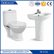ceramic washdown one piece children toilet s trap sanitary ware wc