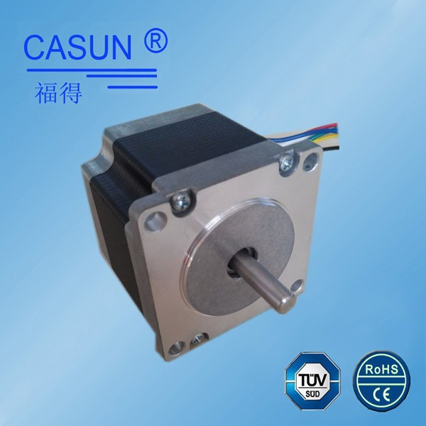 4 phase dual shaft nema23 sewing machine stepper motor high precision engraving cutting cheap stepper motor