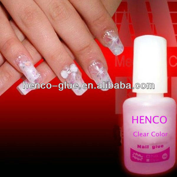 Solvent Free 3g 5g Nail Glue For Artificial Nail Sticking On Natural Nail