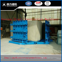 The lowest price products China supplier concrete pipe making machine box culvert