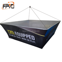 Various Models Professional Producing Booth Roof Displays Stand Trade Show Overhead Hanging Banner Rack
