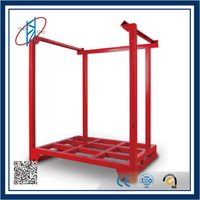 heavy duty red iron stack racking