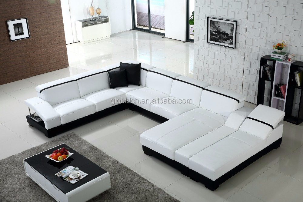 Cheap Price Modern Leather Sofa Set