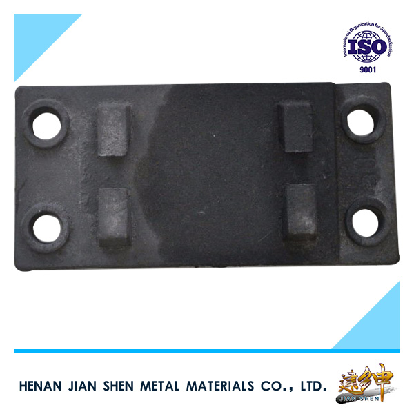 UIC and BS series railway accessories tie plate