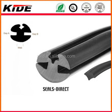 epdm extrusion window seal auto/ boat windshield rubber seal weather strip