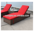 Simple design outdoor furniture classic rattan lying bed