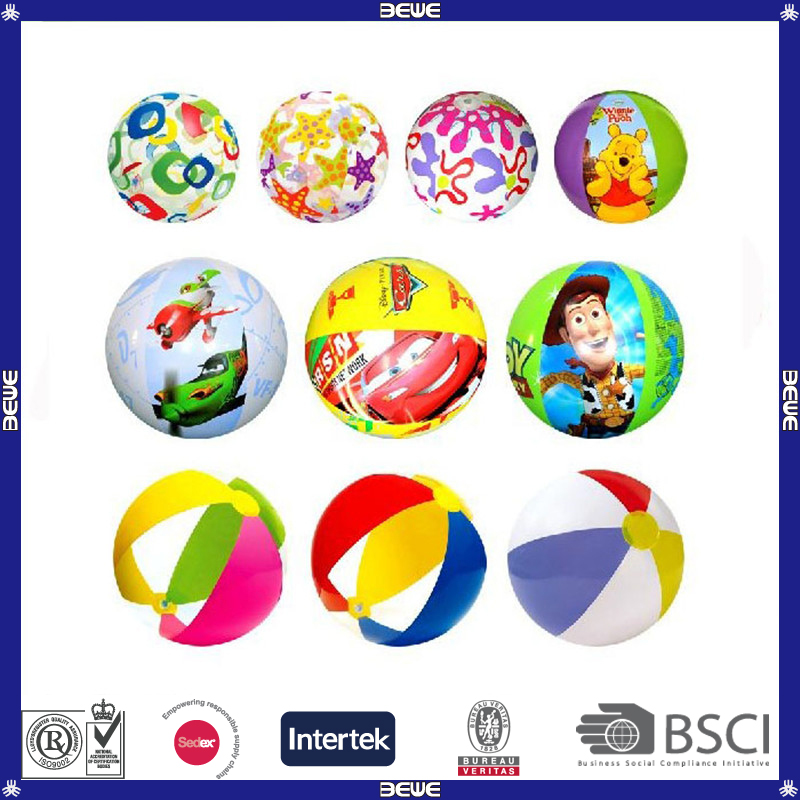 Promotional Beach Ball with high quality and Customized Logo