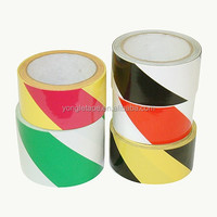 PVC Hazard Warning Tape 6 mil Thickness