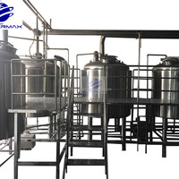 Turnkey Project Beer Brewery Equipment 1500L