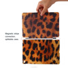 OEM/ODM Manufacturer Stand Tan Leather Printed Case For Ipad Air 2