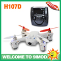 FPV Hubsan X4 H107D 2.4GHz + 5.8GHz Video transmission 2.4g 4ch rc quadcopter ufo with lights
